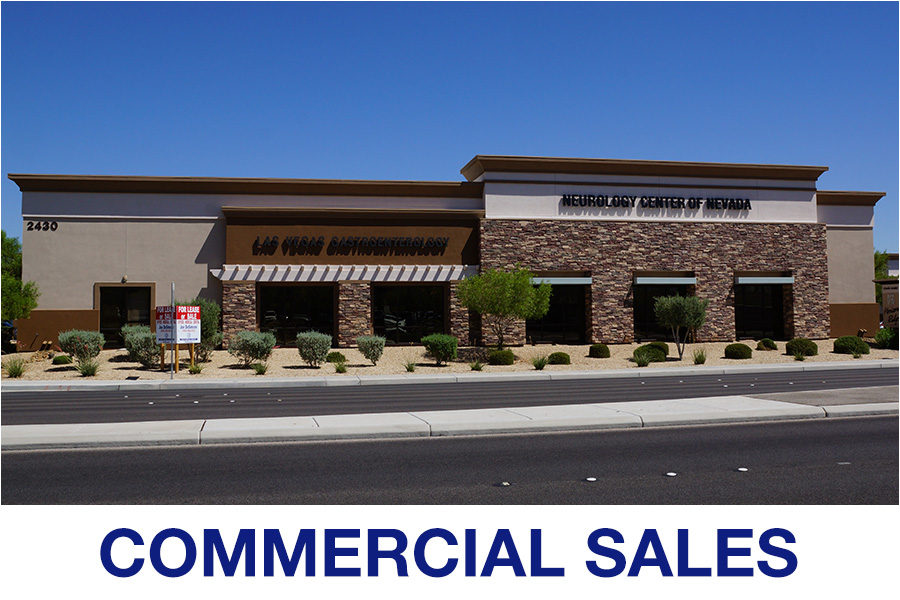Commercial Real Estate Sales